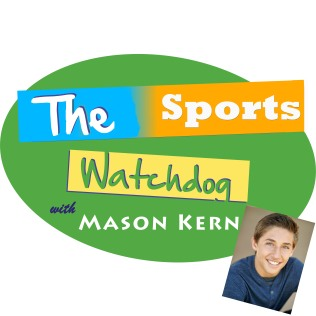THE Sports Watchdog (logo) colour HI - MASON with photo